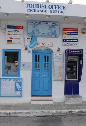 Oficinas de turismo en Grecia