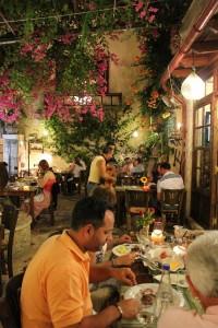 Restaurante Pigadi en Rethymno (Foto Flickr de Grant and Robyns World )