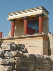 Palacio minoico de Knossos, en Creta (foto flickr de Dennis Barten)