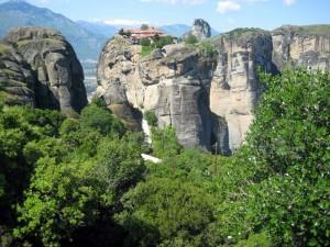 Monasterio de meteora, en la región de Tesalia (Foto Flickr de Manuele Zunelli)