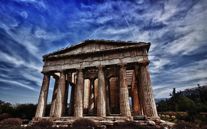 El Partenon de Atenas, cuna de la civilización clásica de Grecia