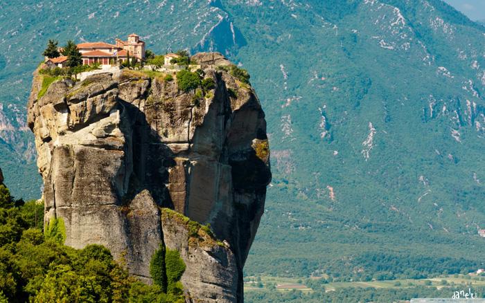 El impresionante monasterio de Agia Triada