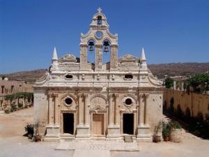 Monasterio Moni Arcadi en Creta (Foto Flickr de Joachim S. Müller)
