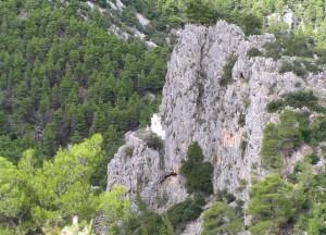 Iglesia de santa Marina en el Monte Parnés (foto de Goneis)