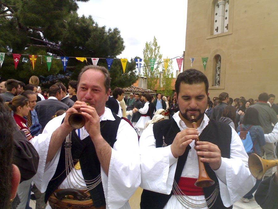 Fiestas en el Monte Parnaso