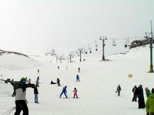 Pista de esquí del Monte Parnaso (Foto Flickr de greek_sunshine)