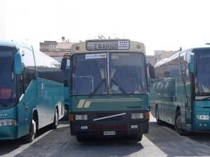 Servicio Nacional de autobuses KTEL. (Foto Flickr de currybet)