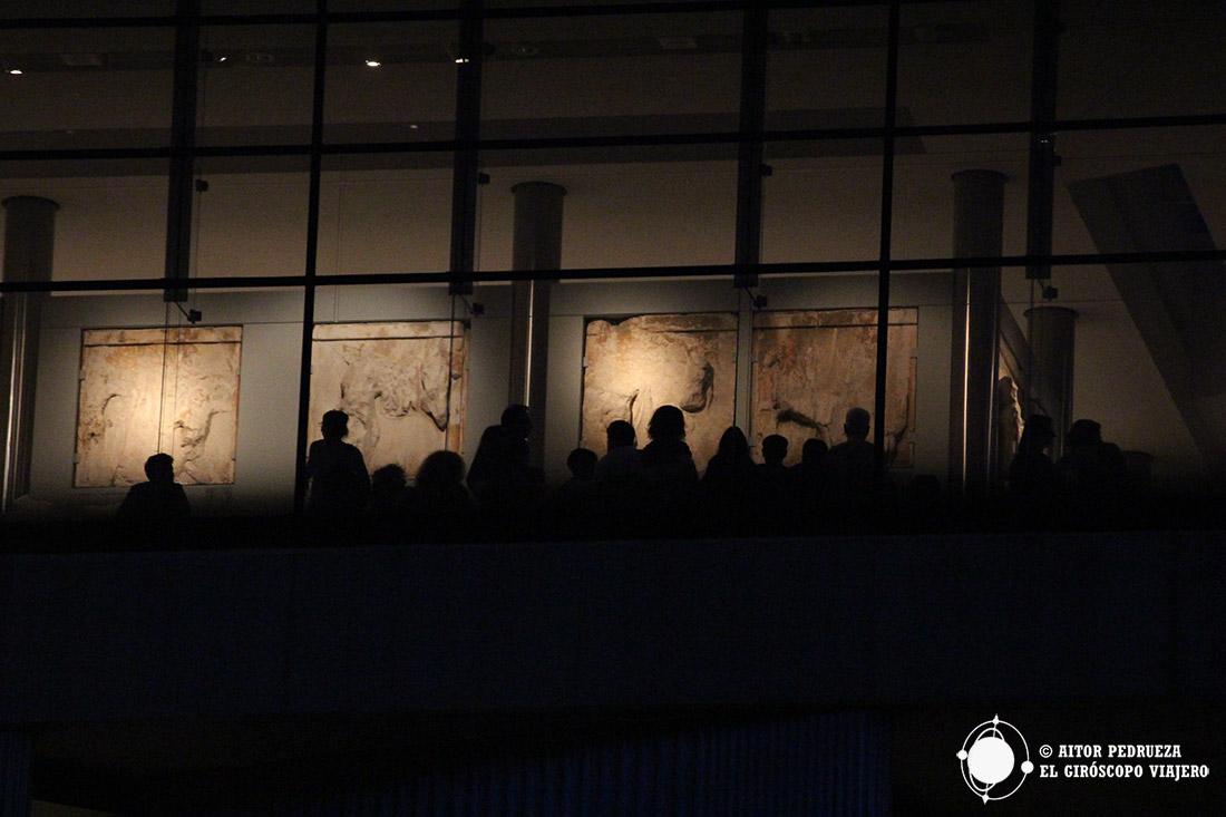 Visita nocturna del Museo de la Acrópolis de Atenas