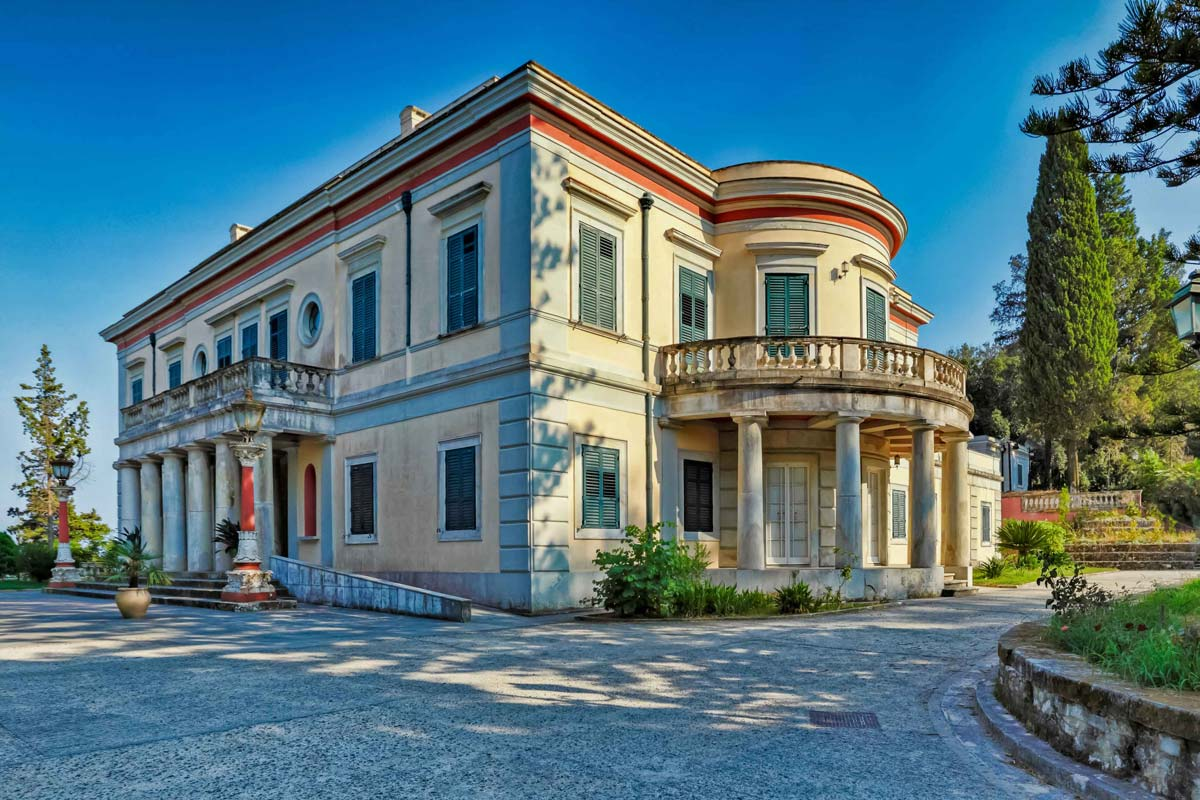 Palacio de Mon Repos en Corfú